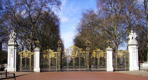 Queen Palace, London. England, London. Queen Palace in St. James Park Stock Photography