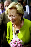 Queen Paola of Belgium Stock Photo