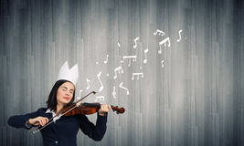 Queen of performance Royalty Free Stock Image
