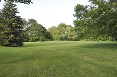 Queen Royal Park scene from Niagara-on-the-Lake in Ontario province. Of Canada on 25th June 2017 Stock Photos