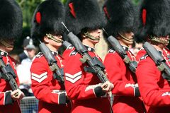 The Queen's Birthday Parade Royalty Free Stock Photo