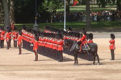 �the Queen�s Birthday Parade�. Stock Photo