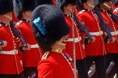 The Queen s Birthday Parade. Royalty Free Stock Photo