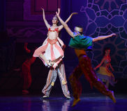 """Queen's Carnival- ballet """"One Thousand and One Nights"""" Royalty Free Stock Photo"""