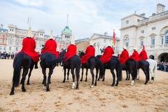 Queen's Cavalry Stock Photo