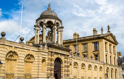 The Queen's College in Oxford Stock Image