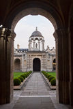 The Queen's college Oxford Stock Images