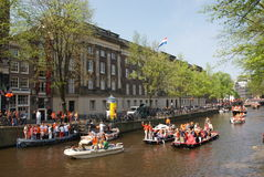 Queen's day Royalty Free Stock Photo