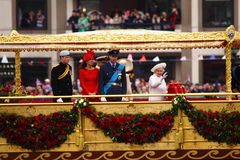 The Queen's Diamond Jubilee Royalty Free Stock Photos