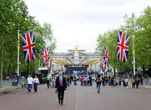 Queen's diamond Jubilee decoration and preparation Stock Photos