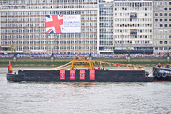 The Queen's Diamond Jubilee Pageant Royalty Free Stock Images