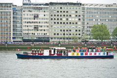 The Queen's Diamond Jubilee Pageant Royalty Free Stock Photo