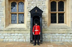 Queen's Guard stock photo