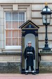 Queen`s Guard at Buckingham Palace Royalty Free Stock Photos