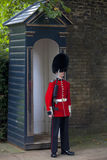 Queen's Guard on Duty stock photos