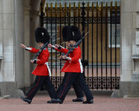 The Queen's Guard Stock Photos
