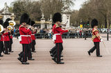Queen's guards Royalty Free Stock Photography