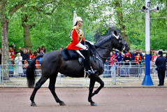 : Queen's guards Stock Photo
