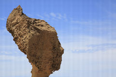 Queen's head rock formation,Yehliu geopark Stock Image