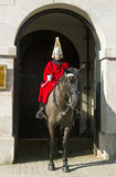 Queen's Horse Guard on duty. Stock Image