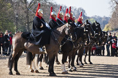 Queen's horse guards Royalty Free Stock Image