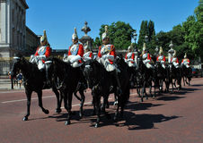 The Queen's Horse Guards at Buckingham Palace London Stock Photos