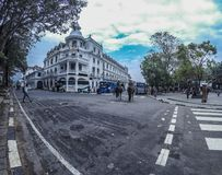 Queen`s hotel kandy. stock photography