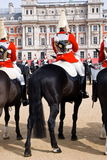 Queen`s Life Horse Guard Royalty Free Stock Photography