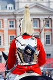 Queen`s Life Horse Guard Royalty Free Stock Images