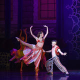 """Queen's lust- ballet """"One Thousand and One Nights"""" Stock Images"""