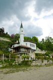 Queen's Mary of Romania Castle. In Balchik - Tourism background Stock Image