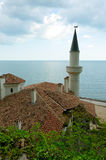 Queen's Mary of Romania Castle. In Balchik - Tourism background Stock Photo