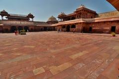 Queen's Palace. Fatehpur Sikri. Uttar Pradesh. India Stock Photography