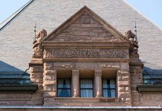 Queen's Park Building Architectural Detail Royalty Free Stock Images