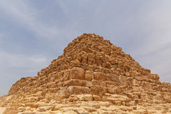 Queen`s pyramid in Giza. View on queen`s pyramid in Giza Stock Image