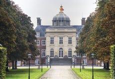 Queen's Residence. Dutch Queen Beatrix residence (Huis ten Bosch) in The Hague, Holland Royalty Free Stock Photo