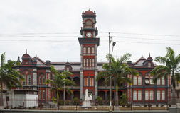 Queen`s Royal College, Port of Spain, Trinidad Stock Image