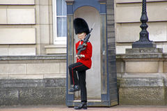 Queen's Royal Guard Royalty Free Stock Photography