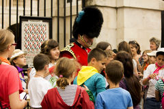 The Queen's Royal Guards Royalty Free Stock Photography