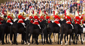 The Queen's Royal Horse Guards Royalty Free Stock Photo
