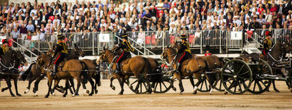 The Queen's Royal Horse Guards Stock Photography