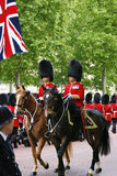 Queen's Soldier at Queen's Birthday Parade Royalty Free Stock Photos