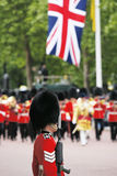 Queen's Soldier at Queen's Birthday Parade Royalty Free Stock Photography