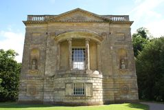 Queen's temple, Stowe, Buckinghamshire, England Royalty Free Stock Photo