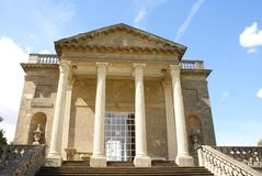 Queen's temple, Stowe, Buckinghamshire, England Royalty Free Stock Image