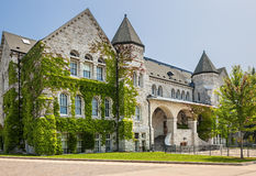 Queen's University Ontario Hall Royalty Free Stock Photo
