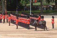 ?the Queen?s Verjaardag Parade?. Stock Foto