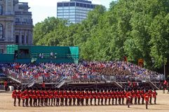 Queen?s Verjaardag Parade?. Royalty-vrije Stock Afbeelding