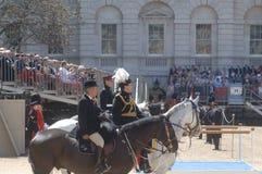 Queen?s Verjaardag Parade?. Royalty-vrije Stock Foto