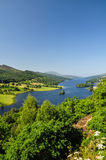 Queen's View at Loch Tummel - Scotland, UK Stock Photography